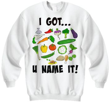 Sweatshirt - U Name It