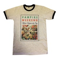 Bkkplaytown Vampire Weekend T Shirt Rock Band Size M J231