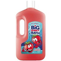 Scrubbles Splashin' Strawberry Big Bubble Bath, 64 fl oz - Walmart.com