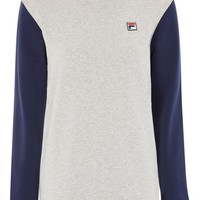 Colour Block Sweatshirt by Fila - Hoodies & Sweats - Clothing