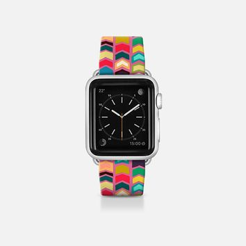 arrow pop pink apple watch band Apple Watch Band (38mm)  by Sharon Turner   Casetify