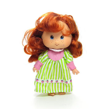 Berry Sweet Sleepover Vintage 1991 Strawberry Shortcake Doll in Nightgown