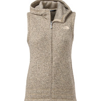 The North Face Crescent Sunset Vest for Women in Oatmeal Heather C791-291