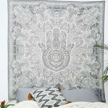 Cilected India Mandala Tapestry Buddha Printed Hanging Wall Clothes Bohe Curtain Cloth Table Picnic Cloths Beach Hippie Tapestry