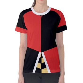 Women's Queen of Hearts Alice in Wonderland Inspired Shirt