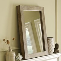 Parsons Wall Mirror - Natural Solid Wood
