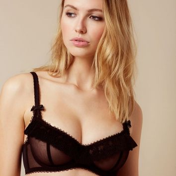Eunice Black Bra | By Agent Provocateur