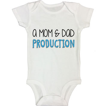 A Mom and Dad Production Funny Kids Onesuit - B100