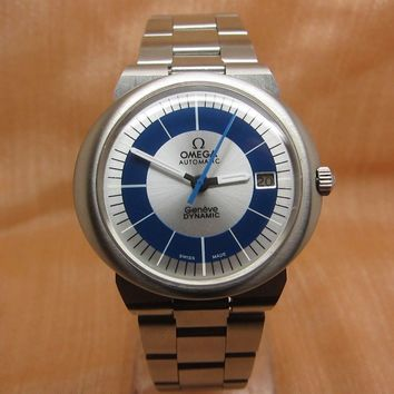 Omega Geneve Dynamic 40mm Automatic Vintage 1960s Men's Stainless Swiss Watch