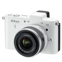 Walmart: Nikon 1 White V2 Digital SLR Camera with 14.2 Megapixels and 10mm-30mm Lens Included