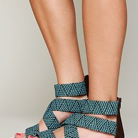 Free People Vineyard Woven Sandal