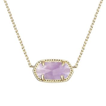 Elisa Pendant Necklace in Amethyst - Kendra Scott Jewelry