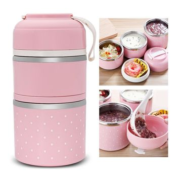 Lunch Box Stainless Steel Food Storage Container