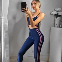 Yoga Autumn Hot Sale Women's Fashion Sportswear Set [83148603407]