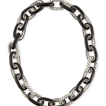 David Yurman Madison® Chain Enamel Necklace