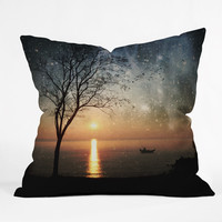 Belle13 The Old Man And The Sea Outdoor Throw Pillow