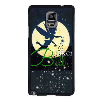 tinkerbell in the moon christmas samsung galaxy note 4 note 3 cover cases