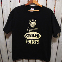 Genuine Stolen Parts T-Shirt,  Size L