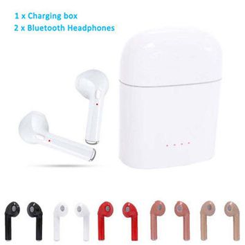 A Pair for APPLE 7 Air pods Mini Wireless In-ear Bluetooth Headphones Headsets