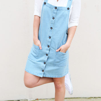 Miss Daisy Denim Overalls