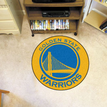 Golden State Warriors Roundel Mat