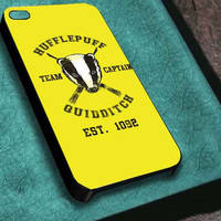 Hufflepuff Team Captain Quidditch customized for iphone 4/4s/5/5s/5c ,samsung galaxy s3/s4/s5 and ipod 4/5 case