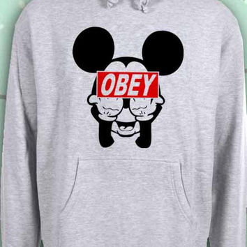 mickey mouse obey popular sweatshirt from