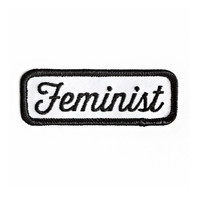 Feminist Patch - Black