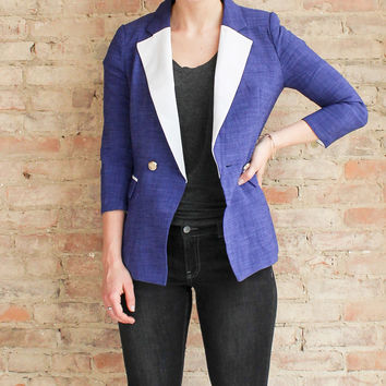 Mellie Denim Blue Blazer