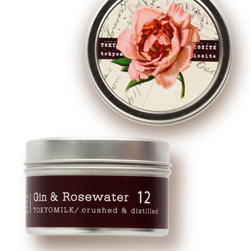 Gin and Rosewater Candle