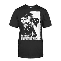 Soul Eater - It's not symmetrical -Men Short Sleeve T Shirt - SSID2016
