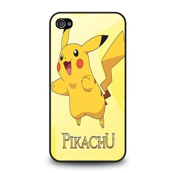 FUNNY CUTE PIKACHU POKEMON iPhone 4 / 4S Case