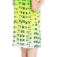 Ombre Floral Silk Charmeuse Dress by Leon Max | Max Studio Official