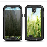 The Sunny Wheat Field Samsung Galaxy S4 LifeProof Fre Case Skin Set