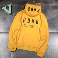 puma fashion hooded top pullover sweater hoodie  number 2