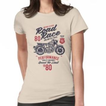 'VINTAGE MOTORCYCLE' T-Shirt by Super3