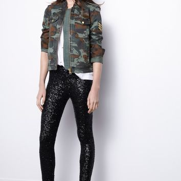 cfe70d2a329fc Kavy Camouflage Overshirt from zadig-et-voltaire.com | tops