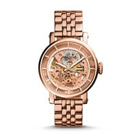 Original Boyfriend Automatic Rose-Tone Stainless Steel Watch