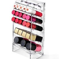 Acrylic Cosmetic Organizers. Lipstick Lip Gloss Eye Shadow Eyebrow makeup clean