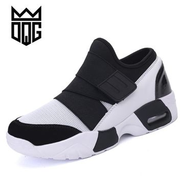 DQG 2017 New Lovers Running shoes for men Sneakers Shoes Air cushion Outdoor Sports Shoes Women's Brand Wedge Jogging Trainers