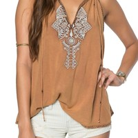 O'Neill Rami Embroidered Tank | Nordstrom