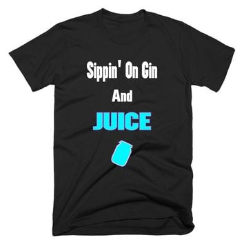 Sippin on Gin and Slurp Juice Fortnite T-Shirt