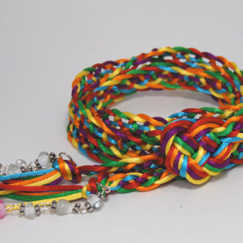 Handfasting Cord - One Love - Irish Wedding - CUSTOM ORDERS WELCOME - Trinity Crossing