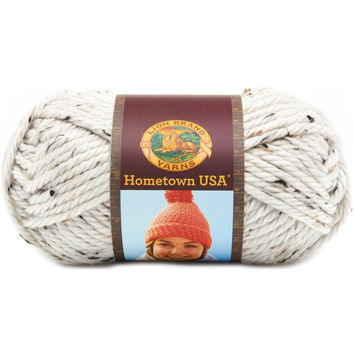Lion Brand Hometown USA Chunky Yarn Aspen Tweed