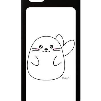 Cute Seal iPhone 5 / 5S Grip Case  by TooLoud