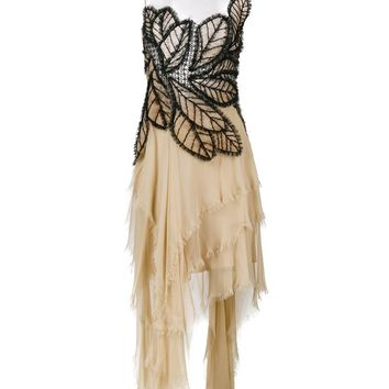 ALBERTA FERRETTI | Sleeveless Asymmetric Butterfly Dress | Womenswear | Browns Fashion