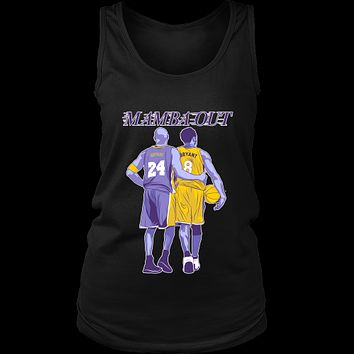 "Kobe Bryant ""Mamba Out"" Women's Tank Top"