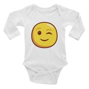Infant Long Sleeve Bodysuit 6M to 18M