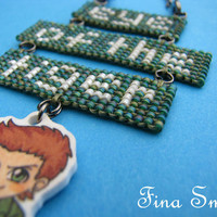 Dean Winchester 'eye of the tiger' Necklace of Supernatural TV-show
