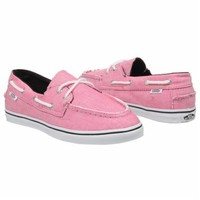 Athletics Vans Women's Zapato Lo Pro Fuchsia Red/White Shoes.com